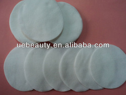 Round disposable soft non-woven cotton pads