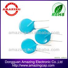 20kv blue ceramic super high voltage capacitor 222m for ct scan machine