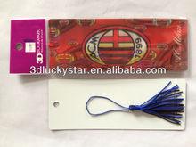 Plastic 3D Bookmark