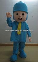 Pocoyo cartoon character mascot fur costume FC-302