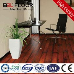12mm AC3 dark fire red high gloss tiger strand woven bamboo flooring 8282-12