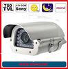Sony 750 TVL 0.001lux (B/W) 30 Meter IR distance european auto license plate camera