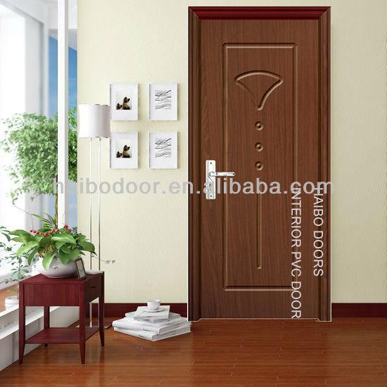 Int rieur pvc enduit de portes en bois pour chambre hb for Porte de chambre en bois