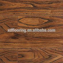 laminated AC3 8.3mm 12mm HDF flooring arc click