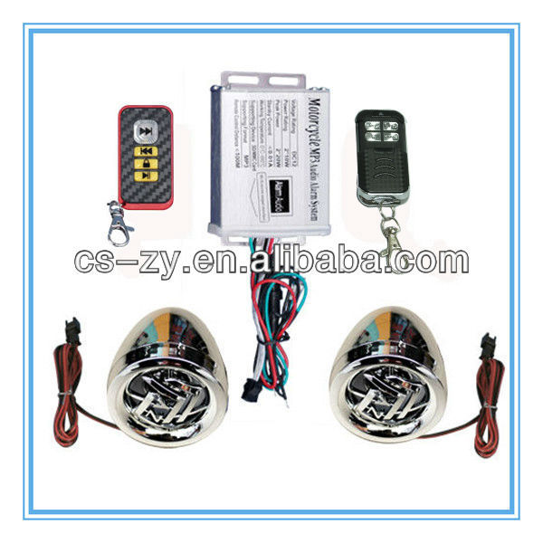 Economic applicability alarm system motorcycle