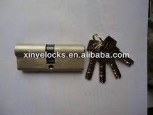 80mm euro profile brass cylinder lock