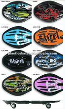new design 2 wheels plastic street surfing rock skateboard