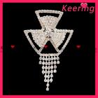 Hot sell rhinestone brooch wholesale for weddings in bulk WBR-618
