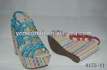 2014 Woman shoes chappals sandals