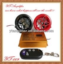 Motorcycle MP3 Voice Anti-theft alarm Smart Car Alarm System YT-009/ remote control motor radio alarm