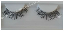 100 hand made lashes look false eyelash, can do the package with your logo