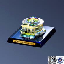 Crystal Art Jefferson Memorial Building Model