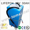 LiFePo4 battery pack 12V 30Ah for electric bicycle