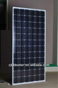 TUV,UL,MCS certificate 190Wp mono-crystalline solar panels
