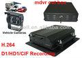 3 - eje de la aceleración del sensor g 8ch dvr móvil/cuadro de coche negro/grabadora de conducción