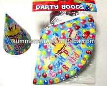 Party hat paper hat birthday hat