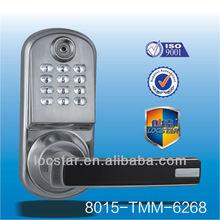 smart TM card system access control entry digital door lock