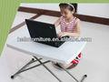 Altura regulável mesa dobrável, mesas crianças, laptop mesa dobrável