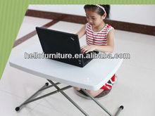 adjustable height folding table, children desks, laptop folding table