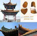 traditionnelle chinoise antique couleur tuiles vitrées pour la vente