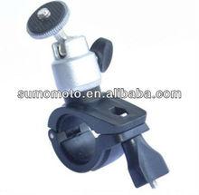 O SHAPE ALUMINIUM MOTORCYCLE/BIKE/ATV HANDLEBAR MOUNT FOR CAMCORDER VIDEO CAM DIGITAL CAMERA DSLR.