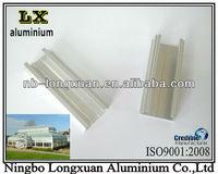 aluminium profile for agricultural greenhouse tent/sunroom