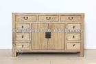 Recycle Wood Furniture/ Chinese antique/nine drawer two door cabinet