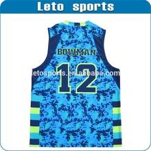 men's Camo strip set basketball jerseys