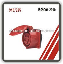 industrial plug 16A plug/3P+N+E plug/220-380V smart plug&socket