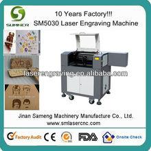 small leather craft laser cutting machine