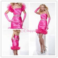 2013 red cocktail dress prom short dresses