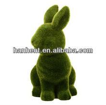 grass coating rabbit