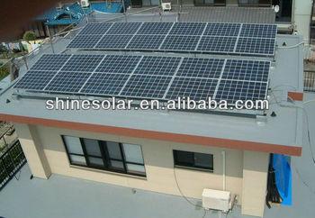 High efficiency 130W/135W/140W/145W/150W mono/poly solar panels(black frame and black TPT)
