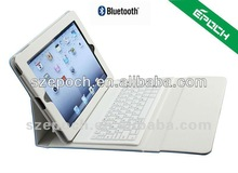 2 In 1 Foldable Leather Protective Case with Bluetooth Keyboard for iPad 2