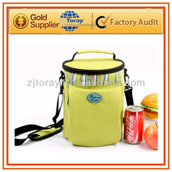 Insulated lunch cooler bag for frozen food