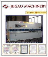 JUGAO QC11K-45X11000 metal sheet hydraulic shearing guillotine type machine