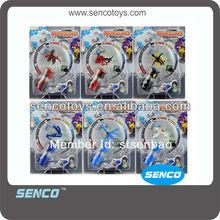 6 Mixed Combat Beyblade Monsunos