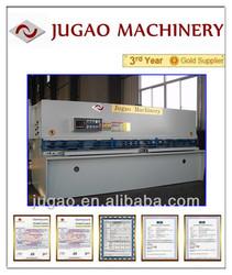 JUGAO Metal sheet QC12Y-55X3200 hydraulic shearing guillotine shear