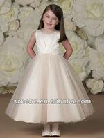 T5 A little princess ball gown long dresses for kids