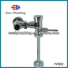 FV002 New design high quality single handle brass toilet delay flush valve