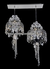 Promotion decorative home pendant light/crystal chandelier with UL CE VDE