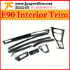 For BMW E90 Left-hand Car Dashboard Carbon Auto Interior Trim