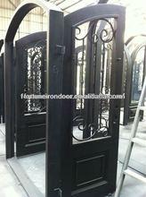 wrought iron luxury security door agricultural made in Xiamen Fujian Factory