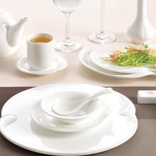 Super White Big Size Large Ceramic Porcelain Dessert Salad Pizza Plates Dishes For Hotel And Restaurant