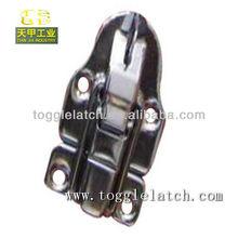 Boîte de verrouillage hasp avec cadenas / petit couvercle de la boîte cachée trou loquet