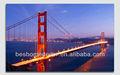 Golden Gate Glitter Bridge resim, liderliğindeki tuval duvar dekorasyon
