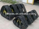 rubber tracks for UTV/ATV,TRUCK,JEEP,TRACTOR,min excavator rubber track assy,track chain