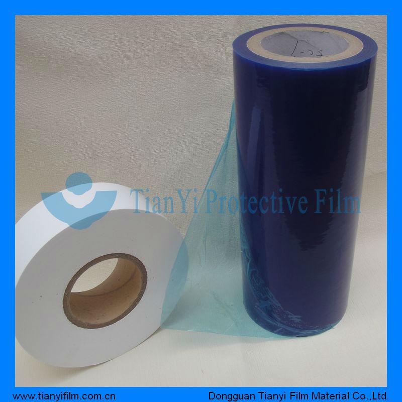 Automotive paint plastic film