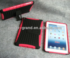 Mobile phone combo case for IPAD Mini with kickstand