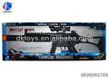 fonctionnant sur batterie clignotant vibrant maquette plastique sniper rifle pistolet de jouet avec le son pour la vente